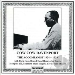 Davenport, Cow Cow - Accompanist CD Cover Art