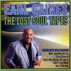 Gaines, Earl - Lost Soul Tapes CD Cover Art