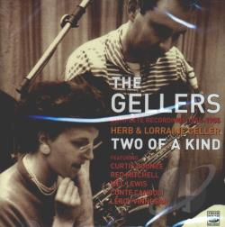 Geller, Herb / Heller, Lorraine - Two Of A Kind: Complete Recordings 1954-1955 CD Cover Art