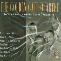 Golden Gate Quartet - Rock My Soul & Other Gospel Favorites CD Cover Art