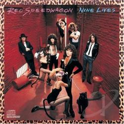REO Speedwagon - Nine Lives CD Cover Art