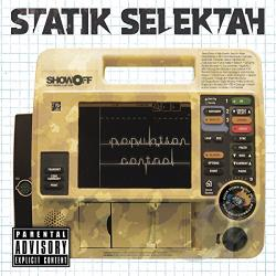 Statik Selektah - Population Control CD Cover Art