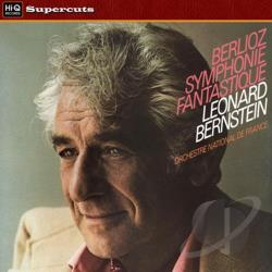 Bernstein / Orchestra National De France - Berlioz: Symphonie Fantastique LP Cover Art