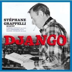 Grappelli, Stephane / Stephane Grappelli Quartet - Django CD Cover Art