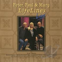 Peter, Paul & Mary - LifeLines Live CD Cover Art