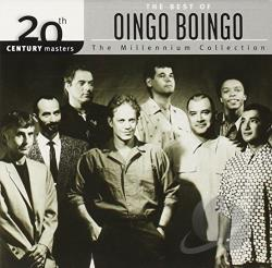 Oingo Boingo - 20th Century Masters - The Millennium Collection: The Best of Oingo Boingo CD Cover Art