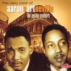 Neville Brothers - Very Best of Aaron & Art Neville CD Cover Art