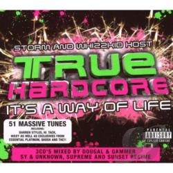 True Hardcore CD Cover Art