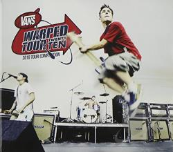 Warped Tour 2010 Compilation CD Cover Art