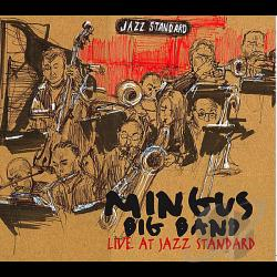Mingus Big Band - Live at Jazz Standard CD Cover Art
