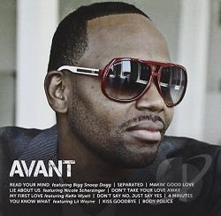 Avant - Icon CD Cover Art