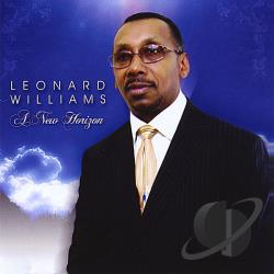 Williams, Leonard - New Horizon CD Cover Art