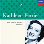 Ferrier, Kathleen - Blow the Wind Southerly: British Songs CD Cover Art