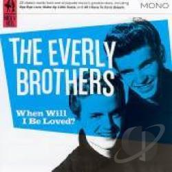 Everly Brothers - When Will I Be Loved? CD Cover Art