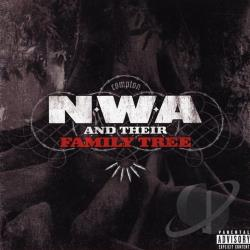 N.W.A - N.W.A and Their Family Tree CD Cover Art
