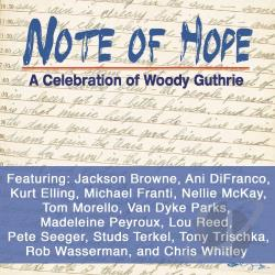 Note of Hope CD Cover Art