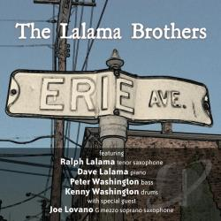 Lalama Brothers - Erie Avenue CD Cover Art