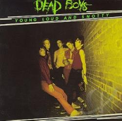 Dead Boys - Young Loud and Snotty CD Cover Art