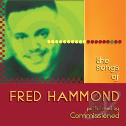Commissioned - Songs of Fred Hammond CD Cover Art