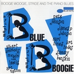 Various Artists - Blue Boogie: Boogie Woogie, Stride And The Piano Blues DB Cover Art