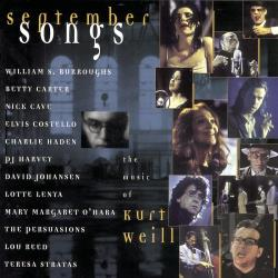 September Songs: The Music of Kurt Weill CD Cover Art