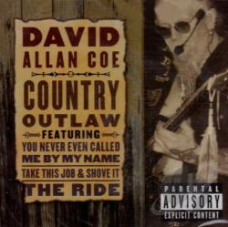 Coe, David Allan - Country Outlaw CD Cover Art