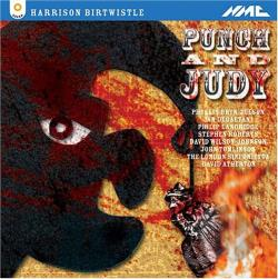 Atherton / Birtwistle / Bryn / Degaetani / Lso - Punch & Judy CD Cover Art
