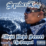 Spider Loc - West Kept Secret: The Prequel CD Cover Art