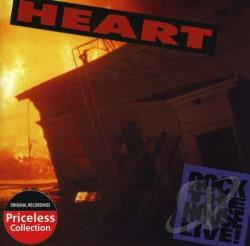 Heart - Rock the House Live! CD Cover Art