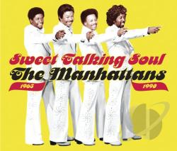 Manhattans - Sweet Talking Soul 1965-1990 CD Cover Art