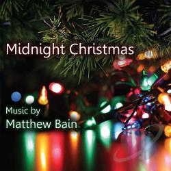 Bain, Matthew - Midnight Christmas CD Cover Art