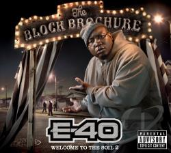 E-40 - Block Brochure: Welcome to the Soil, Pt. 2 CD Cover Art