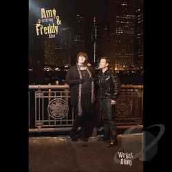 Amy & Freddy - We Get Along CD Cover Art