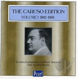 Caruso Edition 1 CD Cover Art
