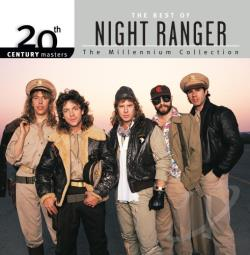 Night Ranger - 20th Century Masters - The Millennium Collection: The Best of Night Ranger CD Cover Art