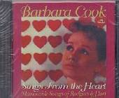 Cook, Barbara - Sings From The Heart Memorable Songs Of Rodgers & Hart CD Cover Art