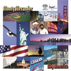 Alexander, Monty - My America CD Cover Art