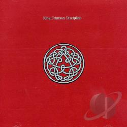 King Crimson - Discipline CD Cover Art