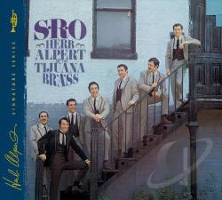 Herb Alpert & the Tijuana Brass - S.R.O. CD Cover Art