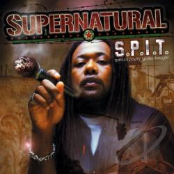 Supernatural - Spit LP Cover Art