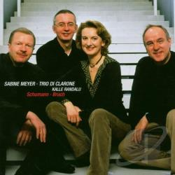 Meyer, Sabine: cl, bas hn / Tr - Schumann, Bruch CD Cover Art