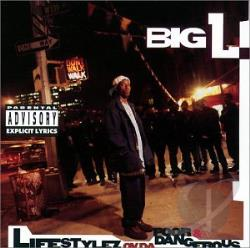 Big L - Lifestylez Ov Da Poor and Dangerous CD Cover Art