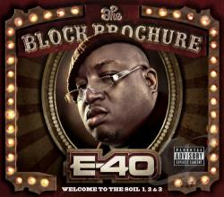 E-40 - Block Brochure: Welcome to the Soil, Vol. 2 CD Cover Art