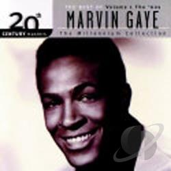 Gaye, Marvin - 20th Century Masters - The Millennium Collection: The Best of Marvin Gaye, Vol. 1 CD Cover Art