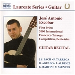 Antonio - Guitar Recital CD Cover Art