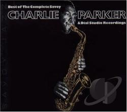 Parker, Charlie - Best of the Complete Savoy and Dial Studio Recordings CD Cover Art