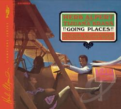 Alpert, Herb / Tijuana Brass - Going Places CD Cover Art