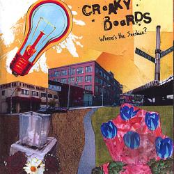 Creaky Boards - Where's the Sunshine? CD Cover Art