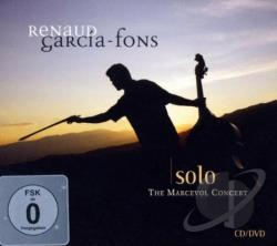 Garcia-Fons, Renaud - Solo: The Marcevol Concert CD Cover Art