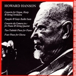 Hanson, Howard - Howard Hanson: Concerto for Organ, Harp & String Orchestra; Nymphs & Satyr Ballet Suite; etc. CD Cover Art